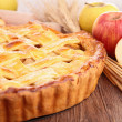 Gourmet apple pie — Stock Photo
