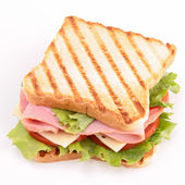 Isolated sandwich — Stock Photo