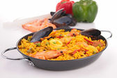 Gourmet paella — Stock Photo