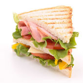 Isolated sandwich — Stock Photo