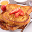 Royalty-Free Stock Photo: French toast with fruits