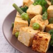 Stock Photo: Grilled tofu