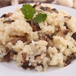 Mushroom risotto — Stock Photo