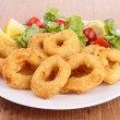 Stock Photo: Squid rings