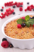 Gourmet crumble — Stock Photo