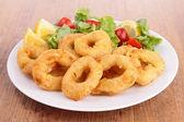 Squid rings — Stock Photo
