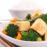 Fried tofu — Stock Photo #23010388