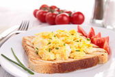 Scrambled egg — Stock Photo