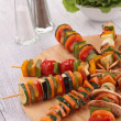 Stock Photo: Vegetables skewer