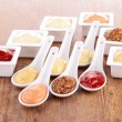 Stock Photo: Sauce, dips, condiment