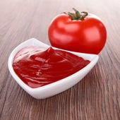 Tomato sauce, ketchup — Stock Photo