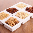 Stock Photo: Assorted nuts