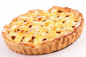 Cooked apple pie — Stock Photo