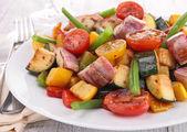 Ratatouille, fried vegetables — Stock Photo