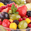 Close up on fruit salad — Stock Photo #24492679