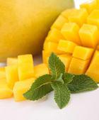 Mango üzerinde kapat — Stok fotoğraf