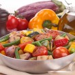 Casserole with grilled vegetables — Stock Photo #24818787