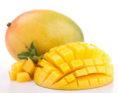 Isolated fresh mango — Stock Photo