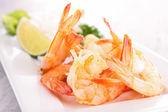 Salada de camarão — Foto Stock