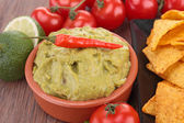 Close up on guacamole — Stock Photo