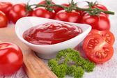 Tomato sauce, ketchup — Stock Photo