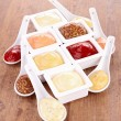 Stock Photo: Mayonnaise,ketchup,mustard and other sauce