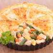 Chicken pot pie — Stock Photo #25407087