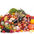 Composition of grocery — Stock Photo