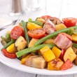 Cooked vegetable — Stock Photo