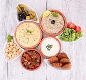 Lebanese food — Stock Photo