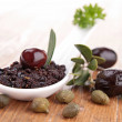 Stock Photo: Olive tapenade