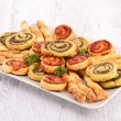 Assortment of finger food — Stock Photo #25750605