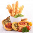 Stock Photo: Finger food appetizer