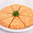 Stock Photo: Potato tortilla