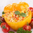 Stuffed pepper — Stock Photo
