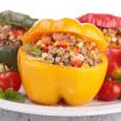 Stuffed pepper — Stock Photo