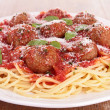 Spaghetti and meatball — Stock Photo #26875409
