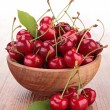 Stock Photo: Fresh cherry