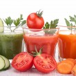 Stock Photo: Vegetable juice