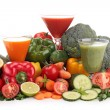 Vegetable juice — Foto Stock