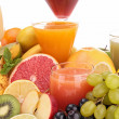 Group of fruit juice — Stock Photo