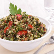 Lebanese tabbouleh — Stock Photo