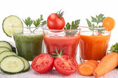 Vegetable juice — Stock Photo