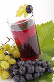 Grape juice isolated — Stock Photo