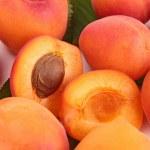 Fresh apricot — Stock Photo