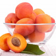 Fresh apricot — Stock Photo