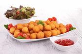 Potato ball — Stock Photo