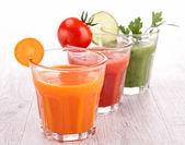 Vegetable juice — Stock Photo