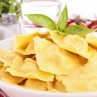 Stock Photo: Cooked ravioli