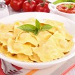 Cooked ravioli — Stock Photo